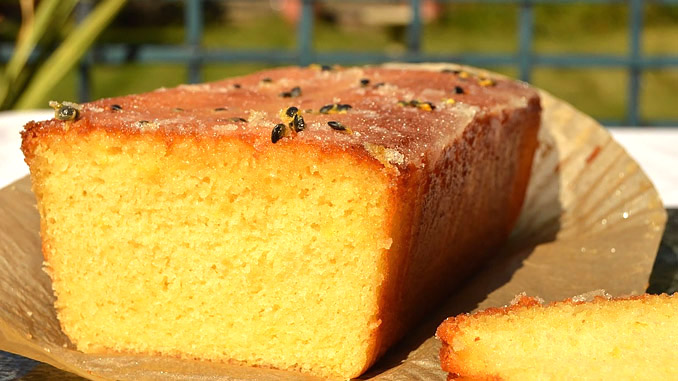 Bajan Passion Fruit Cake